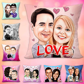 Custom Romantic Pillows
