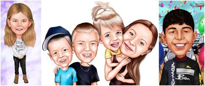 Kids Caricatures