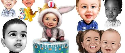 Baby Caricature