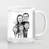 Group Gift - Personalized Caricature Mug