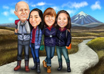 Family Caricatures example 23