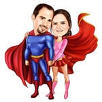Superhero Caricatures example 20