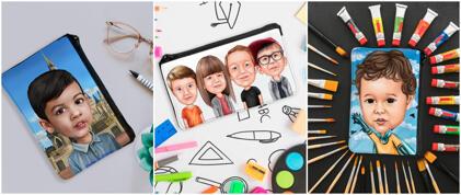 Caricature Pencil Holder