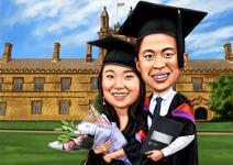 Caricaturas de graduacion example 2