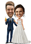 Wedding Caricatures example 8