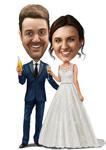 結婚式の風刺画 example 8