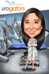 Doctor caricatura example 4