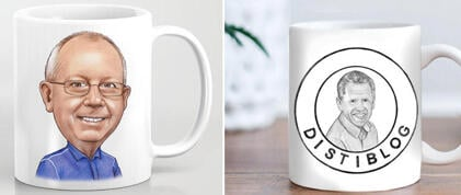 Business Cartoon Mug