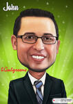 Business karikatur plakat example 8