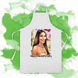 Photo Apron on Mother's Day: Custom Pencils Portrait Drawing