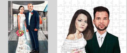 Caricature Puzzles