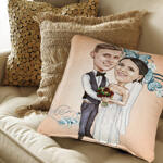 Caricature Cushion example 2