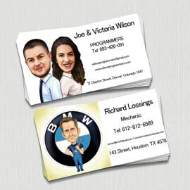 Caricature Business Card
