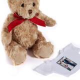 Custom Wedding Gift - Caricature Printed on Teddy Bear