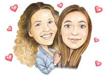 Couple Caricatures example 35
