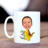Birthday Children Caricature on Mug