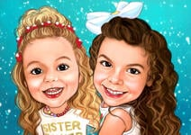 Caricatures d'enfants example 7