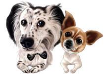 Oreiller pour animaux de compagnie de forme personnalisée example 5