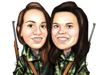 Military Caricatures example 4