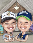 Kids Caricatures example 7