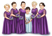 Wedding Caricatures example 34