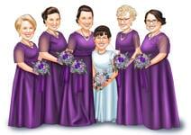 Bruiloft karikaturen example 34