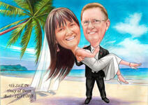 Save the Date Caricature example 16