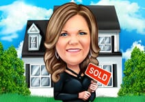 Realtor Caricature example 10
