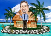Realtor Caricature example 32