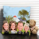Caricature Cushion example 13
