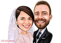 Caricature di nozze example 25