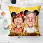 Caricature Cushion example 19