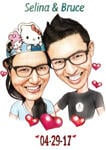 Couple Caricatures example 9