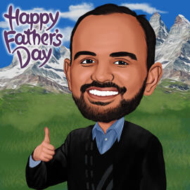 Father's Day Caricatures
