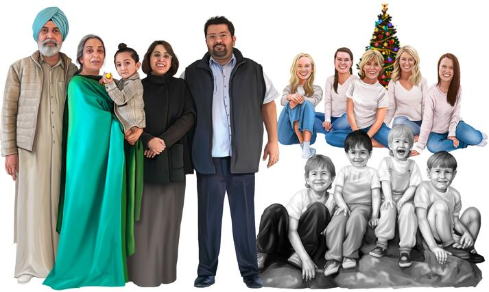 Group Portraits large example