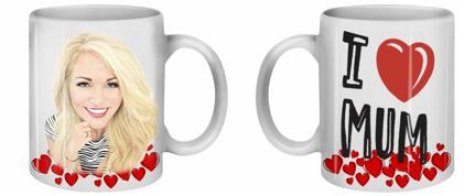 Mother's Day Caricature Mug