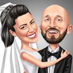 婚礼漫画 example 2