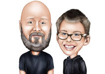 Kids Caricatures example 22