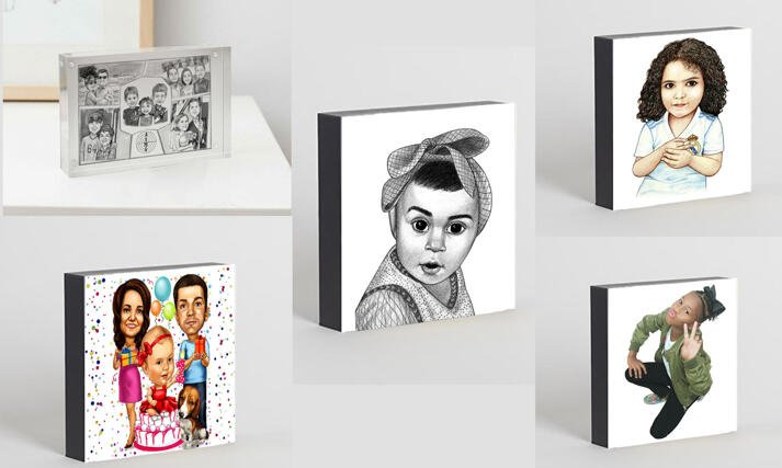 Kids Solid Caricature Print large example