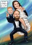 結婚式の風刺画 example 32