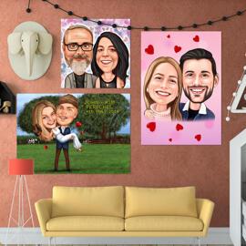 Printed Valentine's Posters