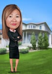 Realtor Caricature example 7