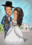 結婚式の風刺画 example 17