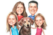 Kids Caricatures example 21