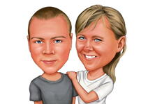 Custom Caricature example 1