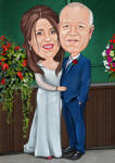 Framed Caricature Print example 22