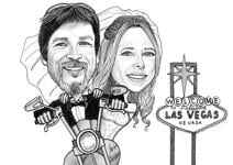 Wedding Caricatures example 28