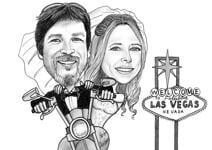 結婚式の風刺画 example 28