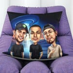 Caricature Cushion example 15