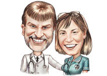 Doctor Caricature example 26